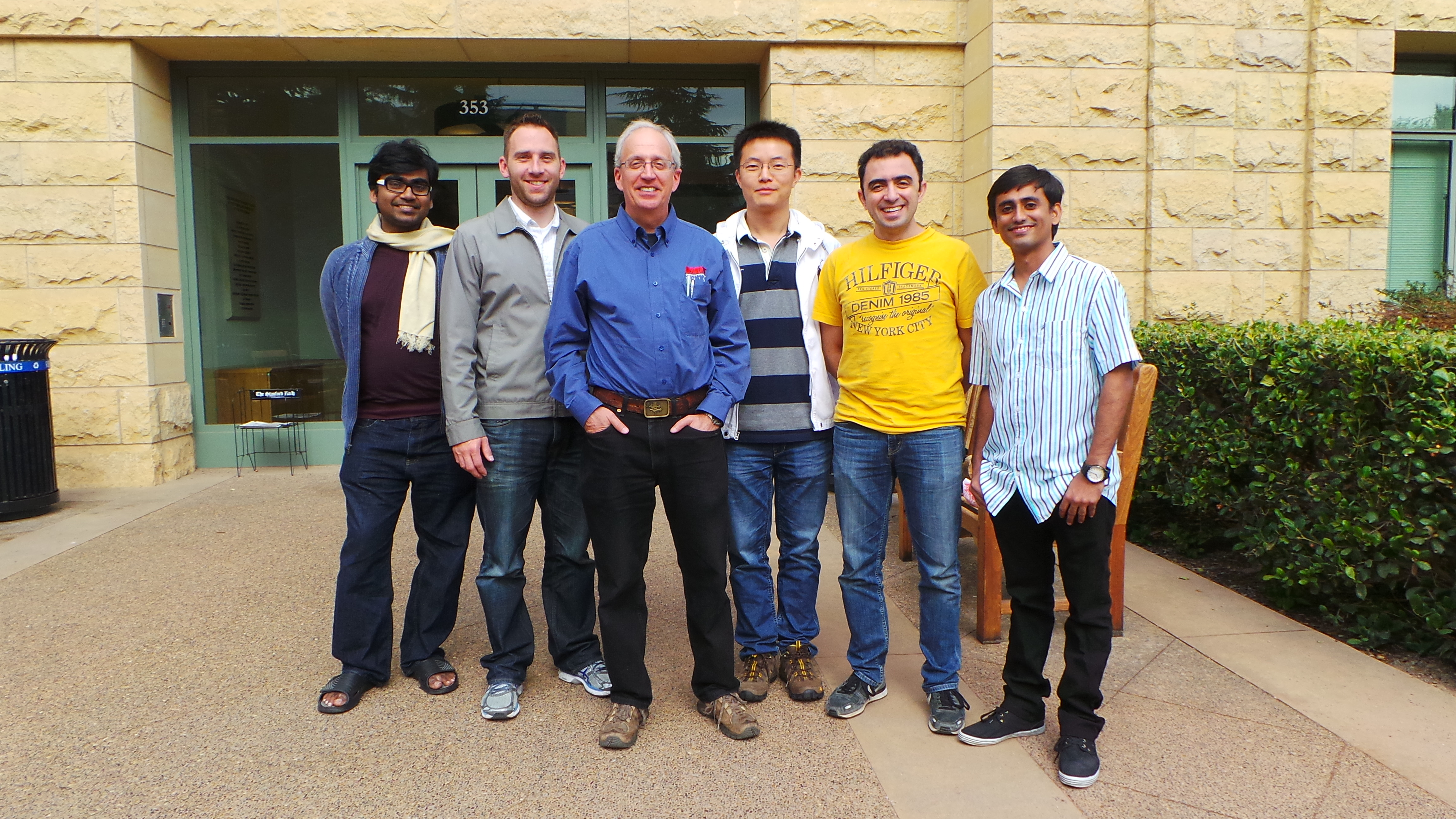 Concurrent VLSI Architecture Group (CVA) Group Photo - October 2014